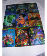 Disney DVD Lot:  12 Movies - Beauty Beast, Snow White, Cinderella  & More