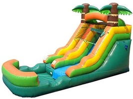 Pogo Bounce House Inflatable Water Slide - 12' Foot Tall x 21' Foot Long x 9' Fo - $2,359.50