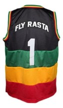 Fly Rasta Team Jamaica Basketball Jersey New Sewn Any Size image 2