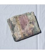 """Benetello Green Mauve Multi Fabric Shower Curtain Croscill 72"""" x 74"""" Pol... - $29.02"""