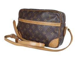 LOUIS VUITTON Trocadero 30 Monogram Canvas Crossbody Shoulder Bag LS2936 - $398.00