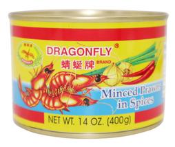 Dragonfly Minced Prawns In Spices 14 oz - $12.62+