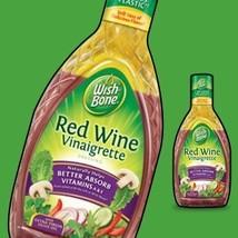 Wish-Bone, Salad Dressing, Red Wine Vinaigrette, 15 Ounce Bottle Pack of 3