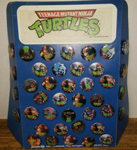 Teenage Mutant Ninja Turtles 40 TMNT Pins Pinback Button Store Display B... - $39.99