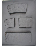 Garden Edging Lawn Landscape Molds (4) Make Low Concrete Walls For $1.00... - $89.95