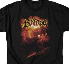Lord of the Rings shadow  darkness Balrog Mines of Moria graphic tee LOR1008 image 2