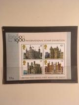 London 1980 International Stamp Exhibition British Post Office First Min... - $2.00