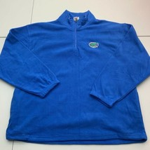 Red Oak Fleece Jacket Mens 2XL Blue 1/4 Zip Mock Neck Florida Gators Ins... - $22.95