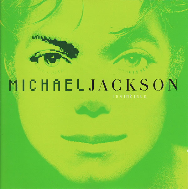 Primary image for Invincible CD by Michael Jackson Limited Edition Green Cover Include Unbreakable