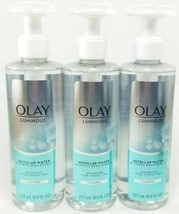 Olay Luminous Micellar Water w/ Rice Bran Extract Cleanse - 8 oz (3 PACK) - $26.24