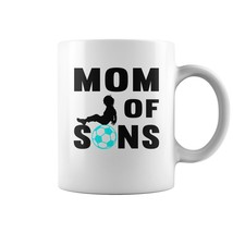 Glassware for U-MOM OF FOOTBALL SONS TSHIRT 7 2 Coffee Mug (white)  - $14.99