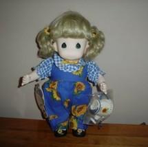 Precious Moments Doll Garden Friends 1433 Wtags 1995 Sunny September NEW... - $67.50