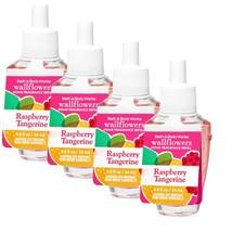 4-Pack Bath & Body Works Raspberry Tangerine Home Fragrance Wallflowers Refills - $25.64