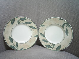 Two saucers / bread & butter plates ~~ Mikasa Intaglio NATURE'S SONG ~~ EC - $3.99