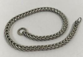 Authentic Trollbeads Troll .925 Sterling Silver Bracelet, 7.9 Inch, 1522... - $35.98