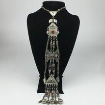 "139g, 20"" Turkmen Necklace Pendant Long Necktie Old Vintage Gold-Gilded,TN377 - $79.20"