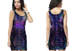 Twiztid The Darkness  Womens Bodycon Sleeveless Short Mini Dress - $17.99+