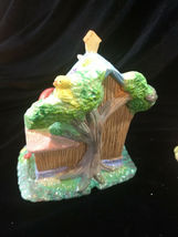 Hoppy Hollow Easter Village Ceramic Houses Set of Three (Lot #4) image 6