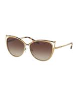 MICHAEL KORS Sunglasses INA MK 1020 116313 Tokyo Tortoise Gold Tone w/Sm... - $209.99