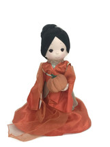 "Precious Moments Disney Parks Exclusive Mulan Boo Orange Halloween 12"" Doll - $37.36"