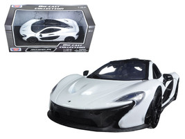 McLaren P1 White 1/24 Diecast Model Car by Motormax - $32.98