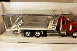 VINTAGE DIECAST- -PETERBILT AUTOCARRIER TRUCK - 1/32ND SCALE -BOXED- NEW... - $31.47