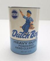 Avon Dutch Boy Advertising Cleanser Heavy Duty Powdered Hand Cleaner Full - $9.75