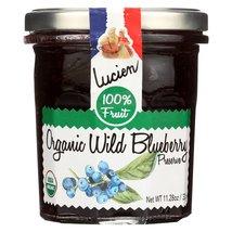 Lucien Georgelin Fruit Spread - Organic - Wild Blueberry - Case of 6 - 1... - $40.99+