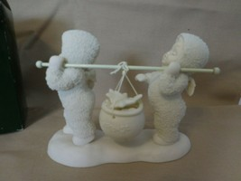 Snowbabies Dept 56 Whistle While You Work #68854 Never Displayed + Box  - $12.89