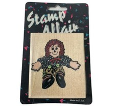 Raggedy Andy Wood Mounted Hamilton Rubber Stamps Stamp Affair Freddy Rag... - $10.39