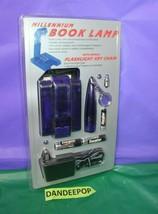 Millennium Book Lamp Light With Bonus Flashlight And Keychain Sealed 431629 - $19.79