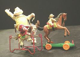 Hallmark Handcrafted Ornaments Toymaker Santa and a Pony for Christmas AA-191779 image 9