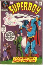 Superboy Comic Book #175 DC Comics 1971 VERY GOOD+ - $7.14