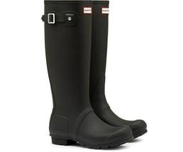 Hunter Original Tall Matte Rain Boots, Black Matte - $68.00