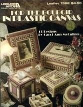 For the Boudoir Vanity Set Plastic Canvas PATTERN/INSTRUCTIONS - $4.47