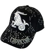 Zodiac Horoscope Sign Adult Size Adjustable Baseball Caps (Capricorn) - $12.95