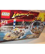 Lego ✰ Indiana Jones #7197 Last Crusade Venice Canal Chase SEALED NEW - $120.00