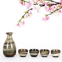 Ankoow 5pcs Chinese Tea Pot Handmade Ceramics Wine Pottery - $40.95