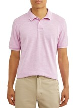 George Men's Short Sleeve Pique Stretch Polo X-Large 46-48 Lavender Touc... - $14.84