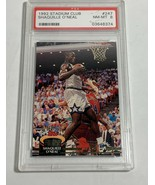 1992STADIUM CLUB SHAQUILLE O'NEAL PSA MINT 9 #247 (MR) RC ROOKIE CARD - $98.99
