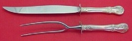 Old Master By Towle Sterling Silver Roast Carving Set 2-Piece Large - $296.01