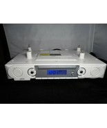 jWIN Under Cabinet Stereo CD Player with Dual Alarm Clock Radio Model JL... - $199.99