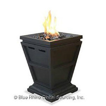 "Uniflame Lp Fire Column 15"" Outdoor 10,000 btu Patio Deck Propane Firepit - $110.69"
