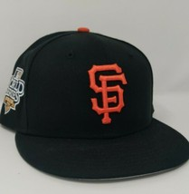 San Francisco Giants New Era 59Fifty 2010 World Series Hat 7 3/4 Fitted ... - £68.06 GBP
