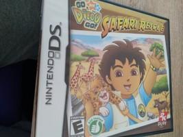 Nintendo DS Go Diego Go! Safari Rescue image 1