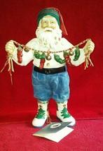 Clothtique Possible Dreams 1995 Southwest Santa #15043 Santa in jeans w/... - $34.99
