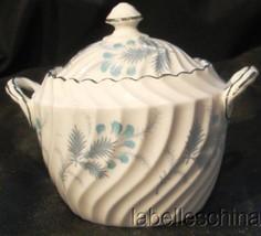 Las Palmas Covered Sugar Bowl and Lid 8274 Bone China Made in England by... - $27.95