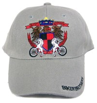 BUY 1 GET 1 FREE BIKER BROTHERS BONDED BY STEEL BAEBALL HAT cap #HAT12 b... - $6.27