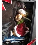 Christopher Radko Hand Decorated Christmas Ornament - $9.00