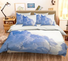3D White Cloudiness 16 Bed Pillowcases Quilt Duvet Single Queen King US ... - $102.84+